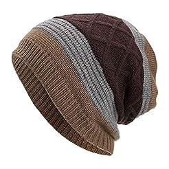 WUAI Deals,Women Men Winter Knit Warm Fl...