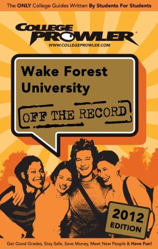 Wake Forest University 2012