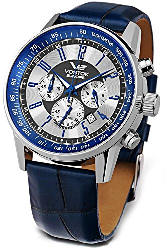 Vostok Europe Men's Watches OS22-5611132 - GAZ 14 Limousine Chrono