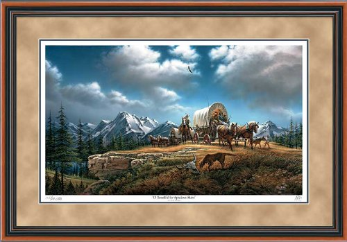 Wild Wings O Beautiful for Spacious Skies Framed Limited Edition Print by Terry Redlin