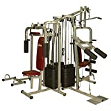Lifeline 6 Station Home Gym - 3 Weight Lines