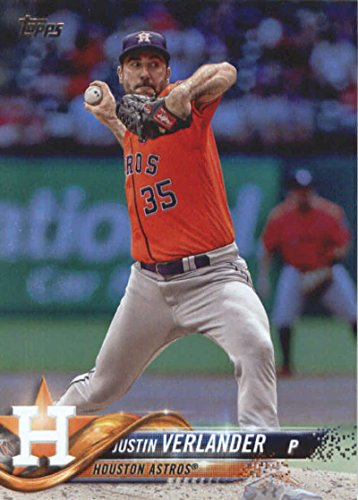 2018 Topps Series 2#650 Justin Verlander Houston Astros Baseball Card - GOTBASEBALLCARDS
