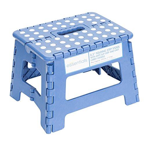 Essentials 21047 8-1/2″ Folding Step Stool