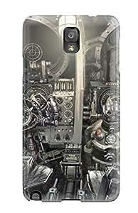 Awesome PZrcSQL15778bqZdA Nick Tate Defender Tpu Hard Case Cover For Galaxy Note 3- Spaceship