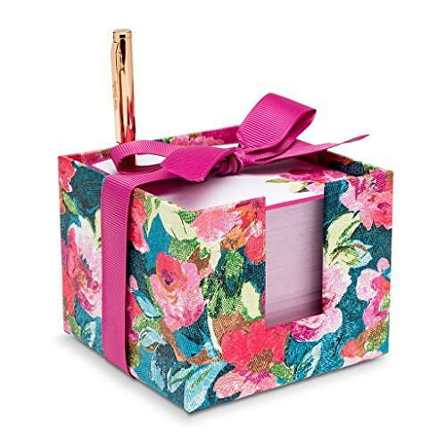 Vera Bradley Women's Notecube, - Cube Stationary