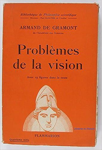 En ligne téléchargement gratuit Problemes de la vision pdf, epub ebook