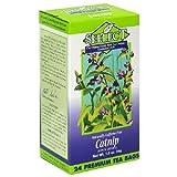 Seelect Organic Tea, Catnip, 24 Tea Bags (Pack of 6)
