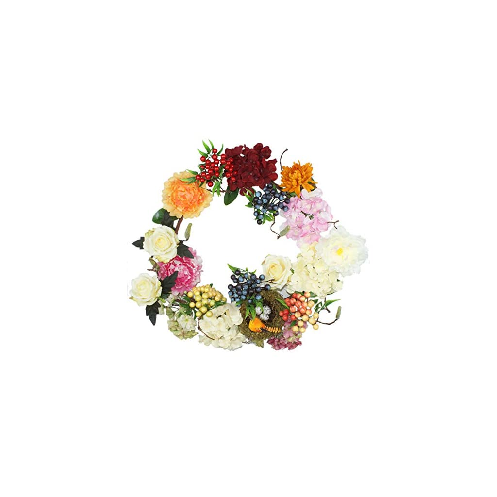 emlyn-Peony-Flowers-Silk-Front-Door-Wreath-16-Inch-Handcrafted-on-a-Grapevine-Wreath-Base-Display-in-Spring-Easter-and-Summer-Bird-nest-Wreath