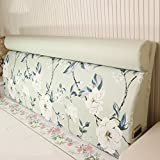 Bedside Backpack / Detachable Bedside Back Pad / Solid Wood Bedside Soft Case / Pregnant Mothers Comfortable Cushion ( Size : 19060cm )