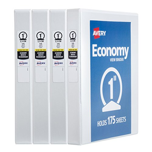 Avery Economy View Binder, 1