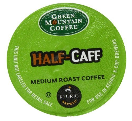 Green Mountain Coffee K-Cup for Keurig K-Cup Brewers, Half-Caff, 100 Count