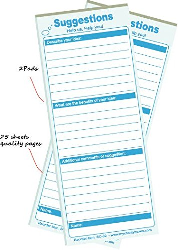 Bestselling Suggestion Box Cards