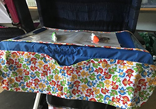 Trayblecloth Airplane Tray Activity Cover  Blue1
