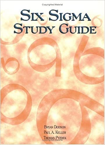 six sigma study guide by bryan dodson 2007 09 01 amazon books Six Sigma Policy