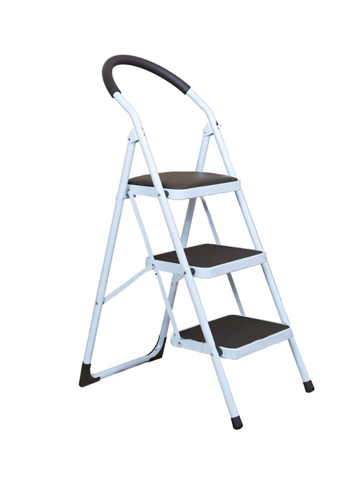 YXX- 大人&子供のための黒い踏み台のはしご踏み台&ノンスリップのついた折り畳み椅子踏み台/足置き/収納棚/フラワーラック (色 : A, サイズ さいず : 3 tiers) B07F23TY72 3 tiers|A A 3 tiers