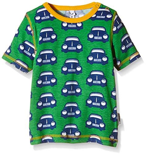 Maxomorra Unisex Baby T-Shirt Gr. 80, Grün - Grün