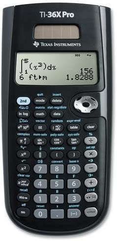 Best texas instruments ti-36x pro engineering/scientific calculator 2020