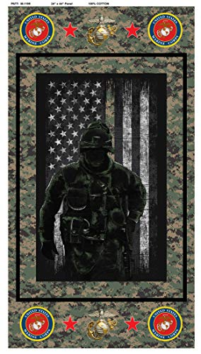 100% Cotton US Military Panel, Firefighter Panel, Police Panel, Army Panel,AIR Force Panel,Marine Panel, US Navy Panel (Marines)