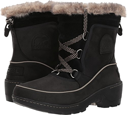 Removable Footbed (Sorel Women's Tivoli III Premium Waterproof Winter Boot Black 10 M US)