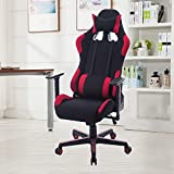 New MTN-G Red Modern Style E-sport Swivel PC Gaming Computer Chair Racing Office Chair HM