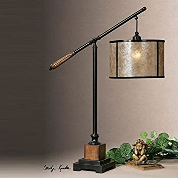 Uttermost 28584 1 sitka lamp floor lamps amazoncom for Sitka silver floor lamp