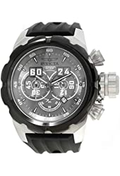 Invicta Men's Russian Diver Black Silicone Band Steel Case Quartz Grey Dial Analog Watch 21629