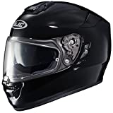 HJC RPHA-ST Full-Face Motorcycle Helmet (Black, Medium)