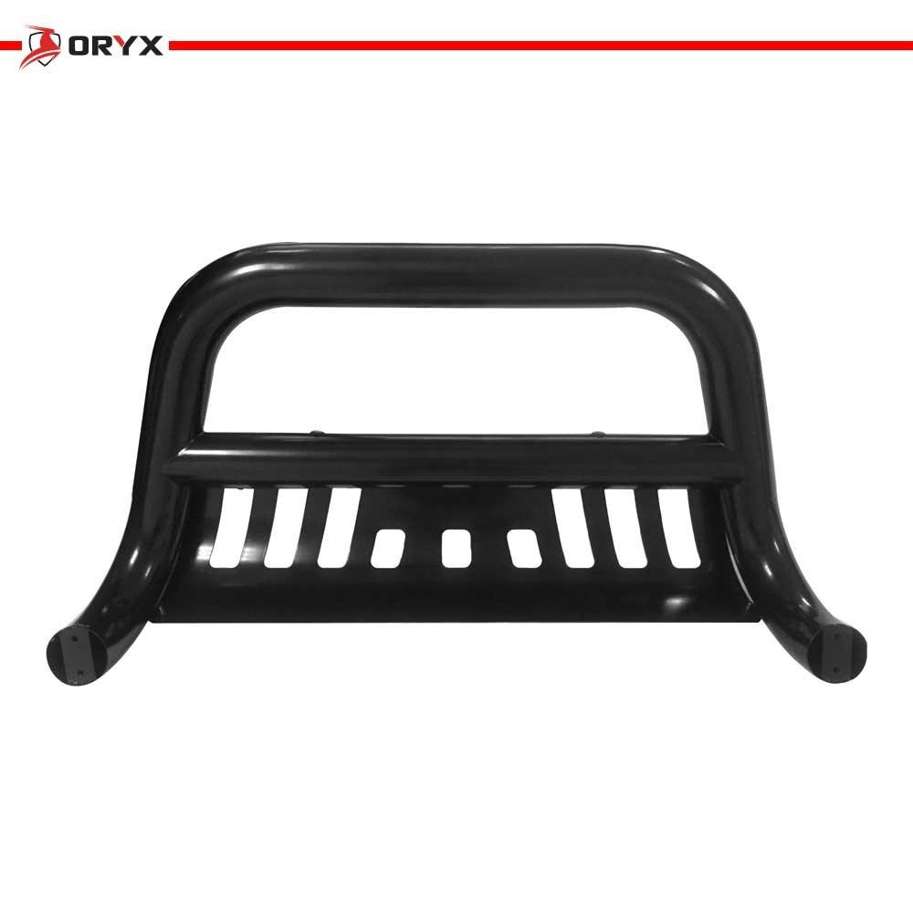 ORYX B1088LB Black Carbon Steel Bull Bar Fits Chevy//GMC C//K 1988-1998
