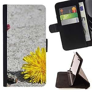For Samsung Galaxy S5 V SM-G900 - Plant Nature Forrest Flower 34 /Funda de piel cubierta de la carpeta Foilo con cierre magn???¡¯????tico/ - Super Marley Shop -