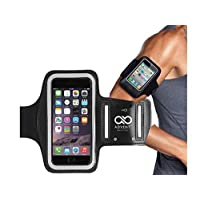 Armband, Advent Basics™ Sports Armband | Sports Arm Belt | Mobile Case for Running Jogging Sports & Gym Activities