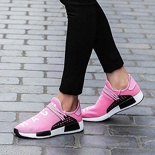 Casual Respirantes Rose Mengxx Athltique Mode Baskets Hommes Chaussures lastiques Maillot Sport En Et Marche Plein Lger Air Pour De Course Entraneurs Gym Femmes OrYwOBq