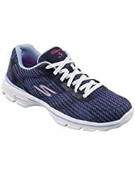 Skechers Womens/Ladies Go Walk 3 Fitknit Lace up Trainers/Sneakers