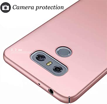 Niacoco Kompatibel Mit Lg G6 Hülle Harter Pc Silikon Kamera