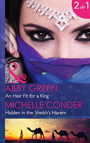 book cover of An Heir Fit for a King / Hidden in the Sheikh\'s Harem