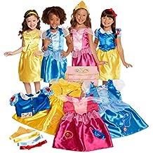 Disney Princess 21-Piece Deluxe Dress-Up Trunk [Amazon Exclusive]