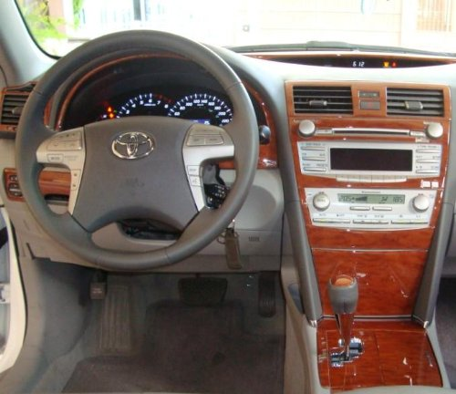 toyota camry interior wood dash trim kit set 2010 2011 buy online in uae products in the. Black Bedroom Furniture Sets. Home Design Ideas