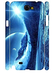 3D Print Design Hipster Natural Scenery Tough Phone Dust Proof Skin Case for Samsung Galaxy Note 2 N7100