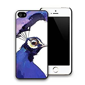 Crowned Crane Hard Plastic Pattern Personalized Back Case Cover Skin for iphone 5/5s