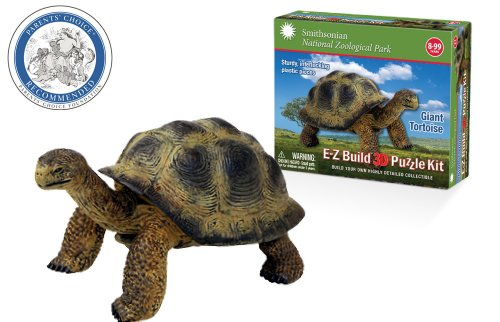 Smithsonian E-Z Build Puzzle - Giant - Tortoise Plastic