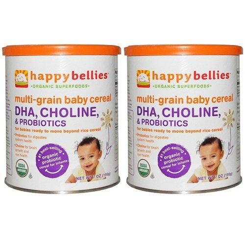 Happy Baby Multi-grain Organic Cereal 7 oz. (pack of 2)