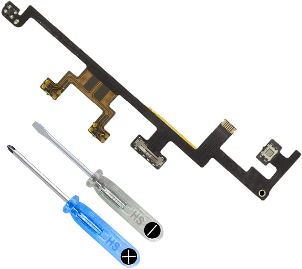 MMOBIEL Volume Button Connector Flex Cable Ribbon Replacement Compatible with iPad 4 9.7 Inch incl. 2 x Screwdriver
