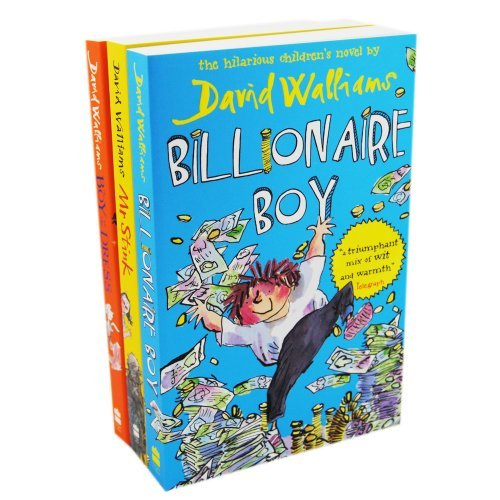 Price comparison product image David Walliams Pack,  4 books,  RRP £26.96 (Billionaire Boy; Boy In The Dress; Gangsta Granny; Mr Stink).
