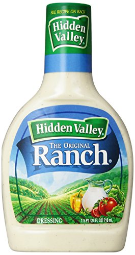 Hidden Valley Dressing, Ranch, 24 oz