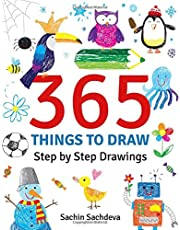 365 Things to Draw: Step by Step Drawings for Kids