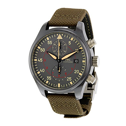 IWC Pilot Automatic Anthracite DialMens Watch IW389002