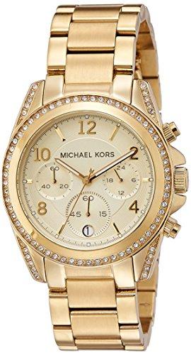 Michael Kors Golden Runway Watch with Glitz MK5166