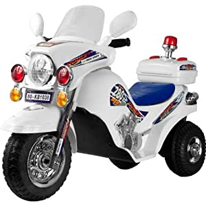 Lil' Rider Police Cruiser Battery Operated - White