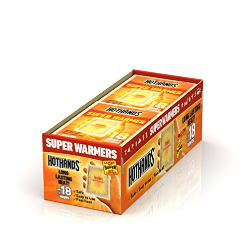 Price comparison product image Body & Hand Super Warmer (18 Hours Of Heat Per Warmer) 20-Count