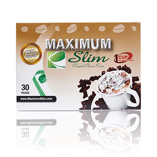 Premium ORGANIC Cocoa - BOOST your Metabolism, DETOXES your body, & CONTROLS your appetite. EFFECTIVE WEIGHT LOSS FORMULA - includes Natural Herbal Extracts (Laxative Free) MAXIMUM Forumla, 30 ct