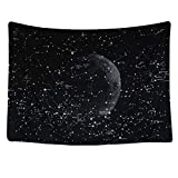 charmsamx Starry Sky Tapestry Moon Constellations Tapestry Bohemian Wall Hanging Astrology Tapestries Wall Blanket Wall Art Horoscope Stars Tapestry for Bedroom Living Room Dorm Decor